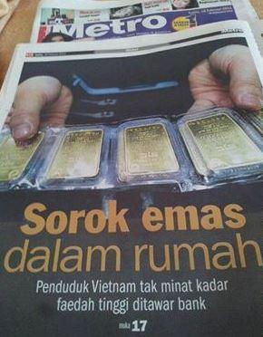 Sorok Emas Dalam Rumah – RakyatVietnam