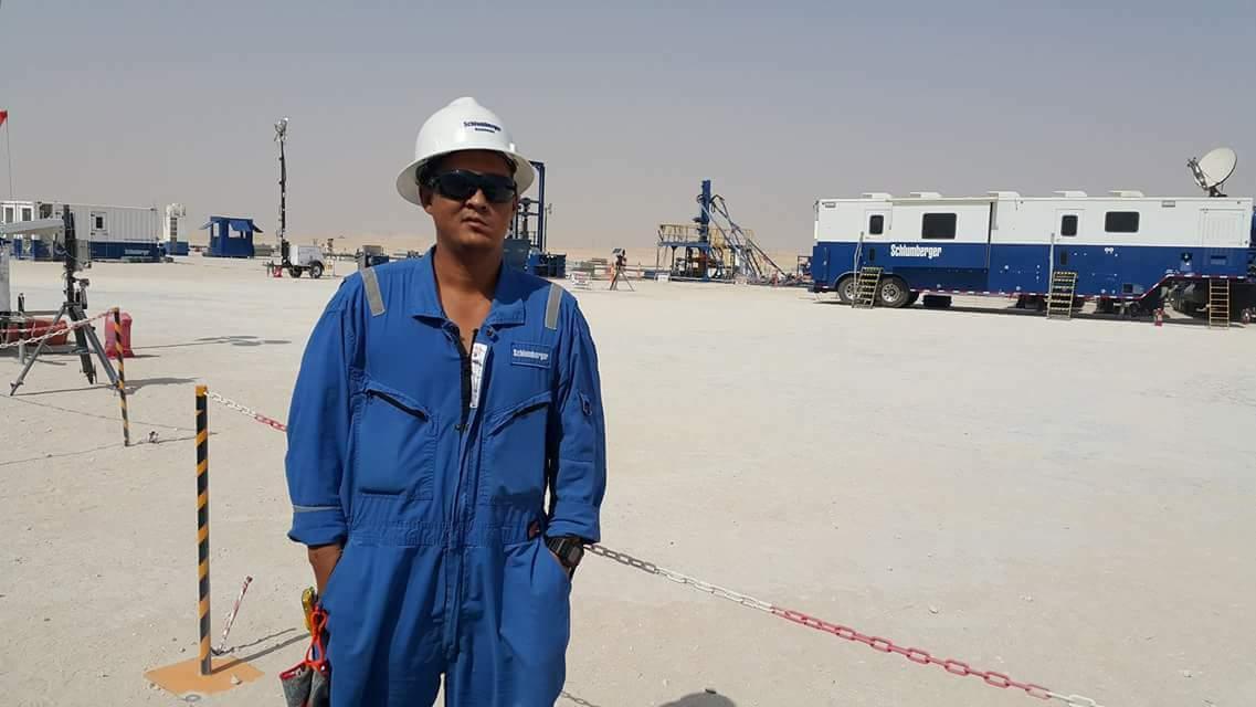 Jimmy in Saudi Arabia