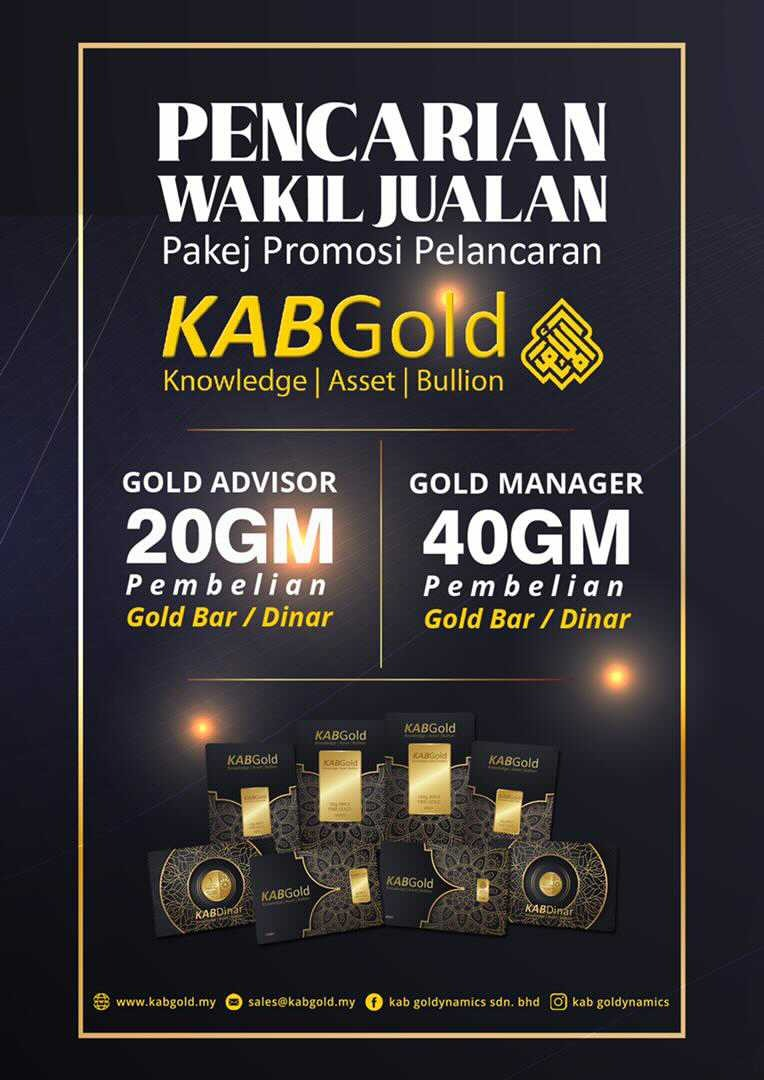 Pencarian Agen KAB Gold KiniBermula!
